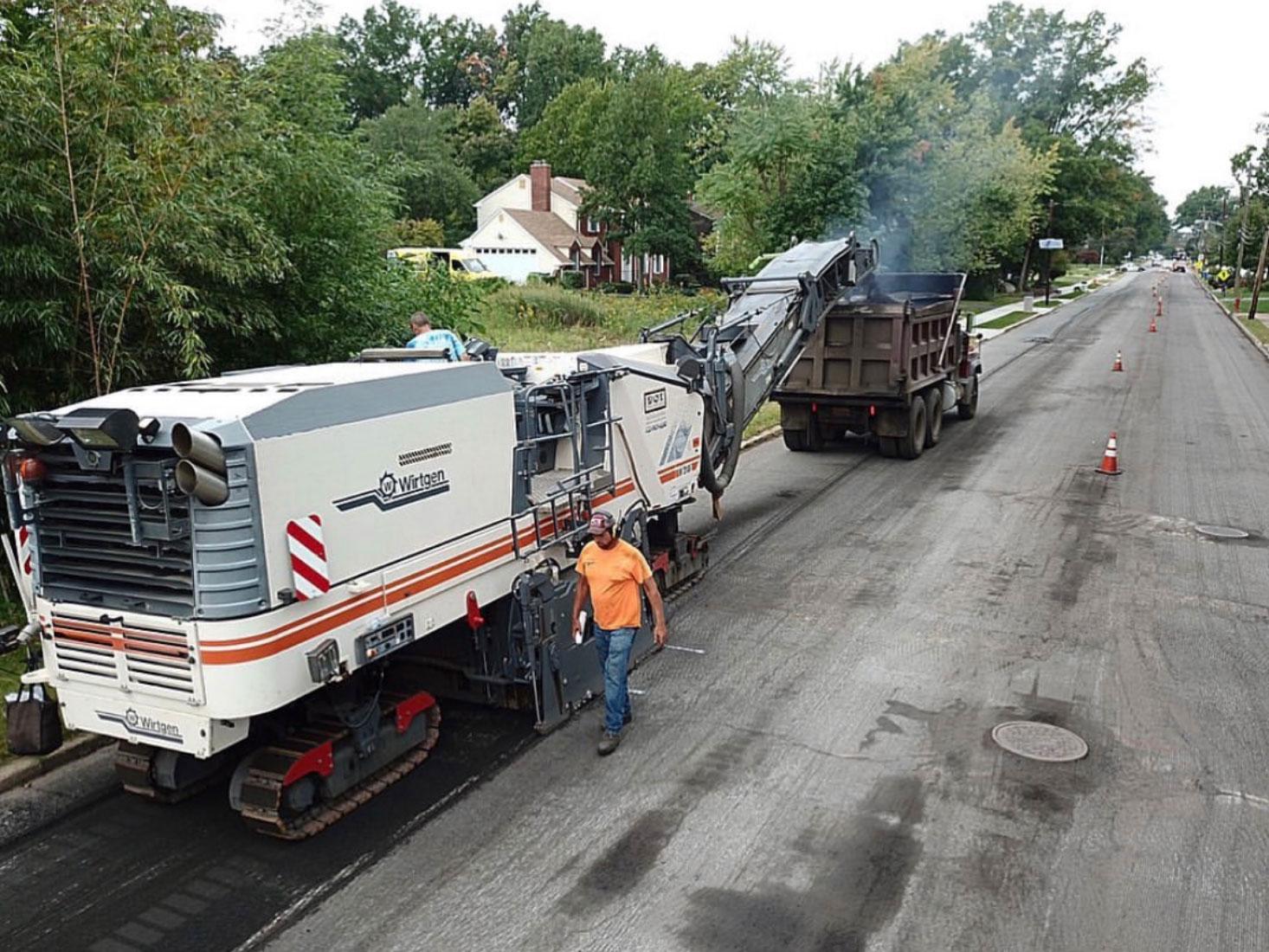 NJ Asphalt Milling Services
