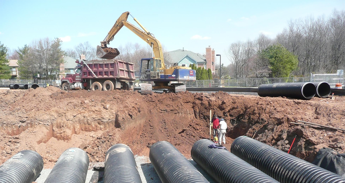 Pipework and drainage projects